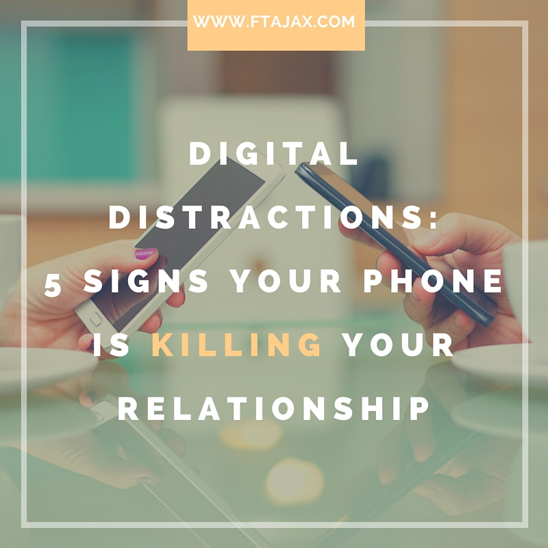 Digital Distractions: 5 Signs Your Phone Is Killing Your Relationship