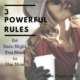 Three Powerful Rules for Date Night You Need to Use Now