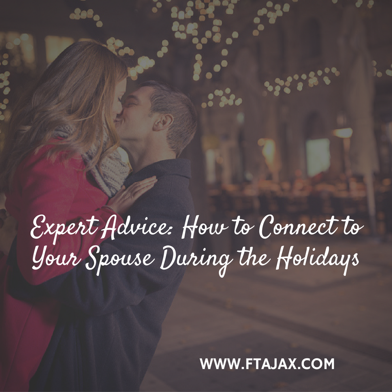 Expert Advice: How to Connect to Your Spouse During the Holidays