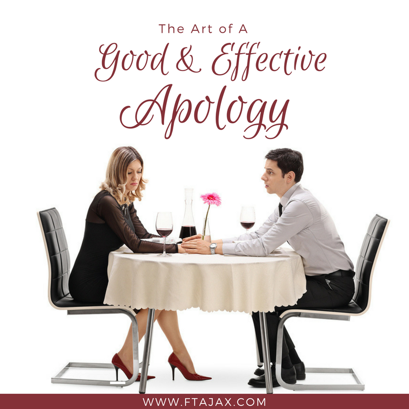 The Art of A Good and Effective Apology