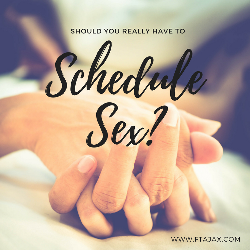 Should You Really Have to Schedule Sex?